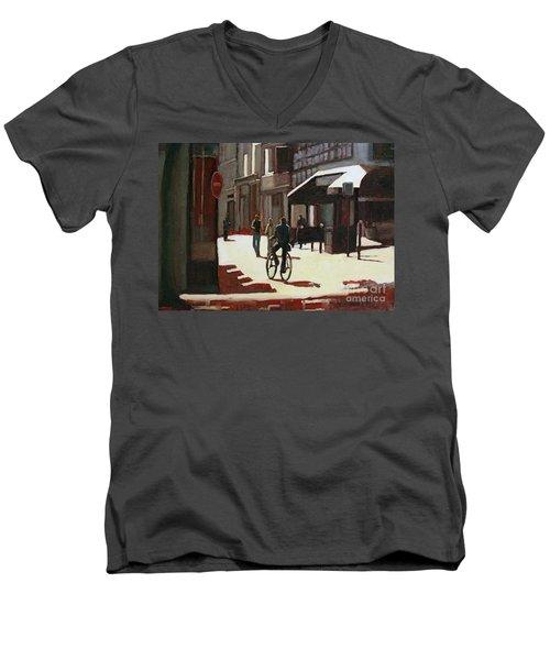 Nice Rue Men's V-Neck T-Shirt