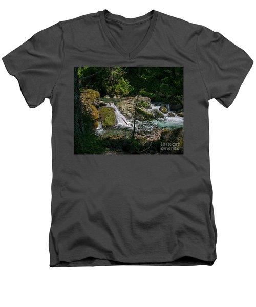Nickel Creek 0715 Men's V-Neck T-Shirt