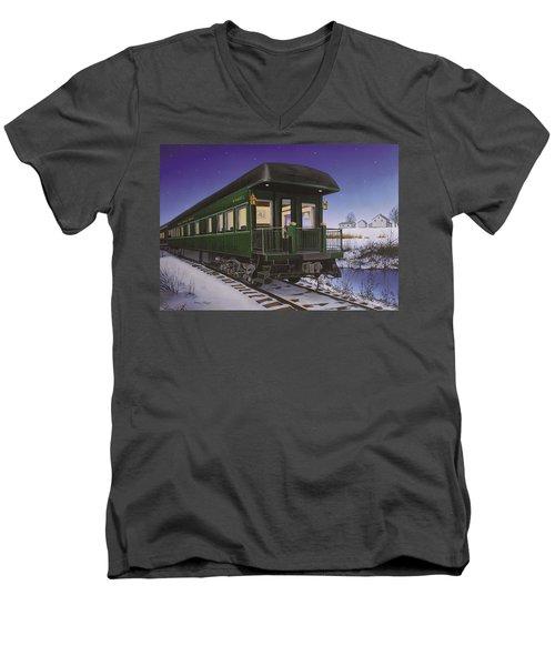Nickel Plate 1 Men's V-Neck T-Shirt