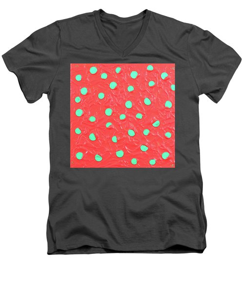 Nickels And Dimes Men's V-Neck T-Shirt by Thomas Blood