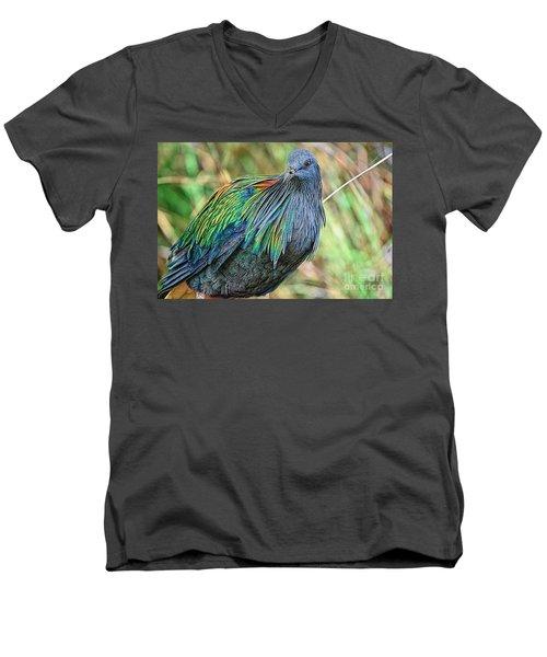 Nicobar Closeup Men's V-Neck T-Shirt