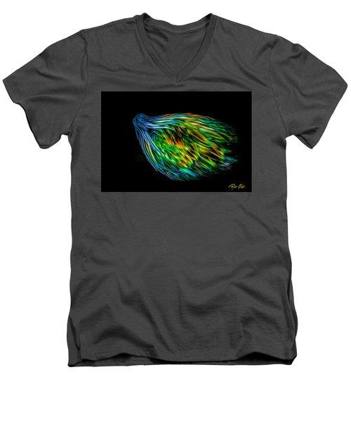 Nicobar Men's V-Neck T-Shirt