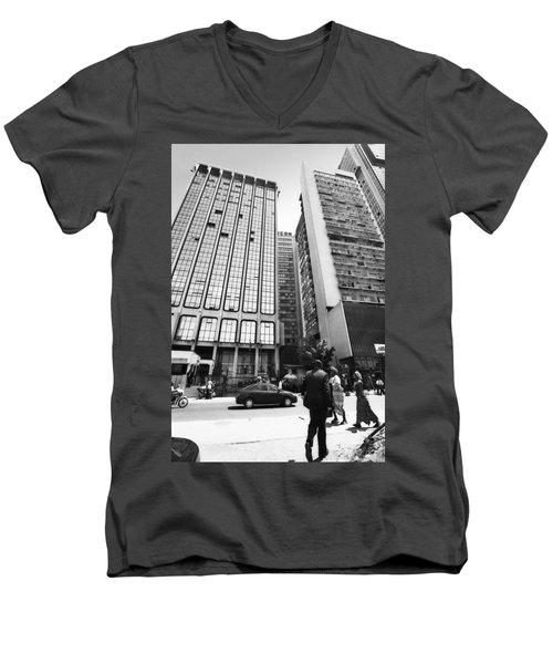 Conoil, Marina Men's V-Neck T-Shirt