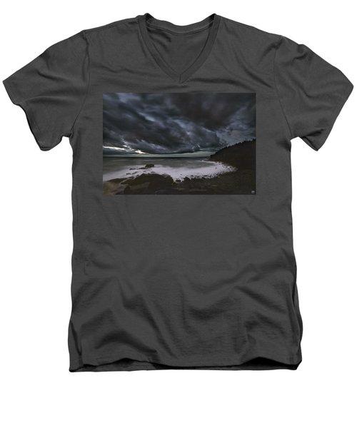Night At Boulder Beach Men's V-Neck T-Shirt