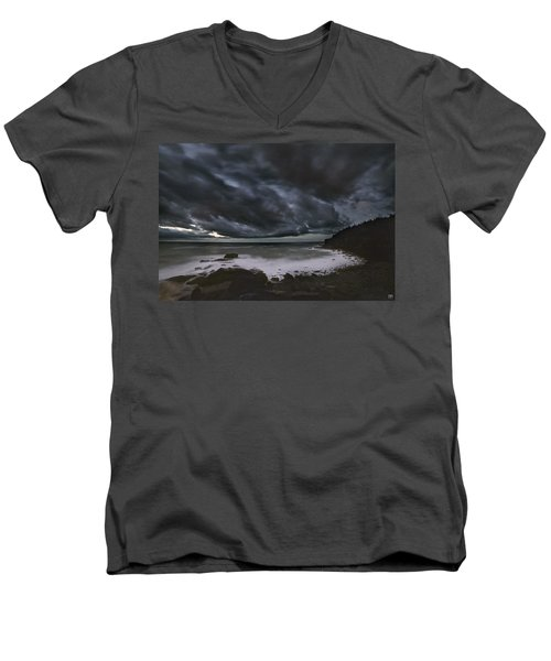 Night At Boulder Beach Men's V-Neck T-Shirt