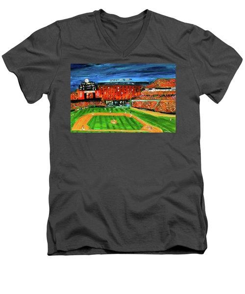 Night At The Yard Men's V-Neck T-Shirt