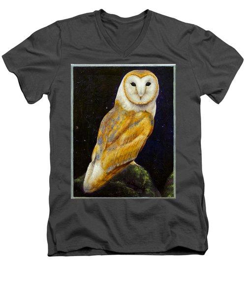 Night Eyes Men's V-Neck T-Shirt