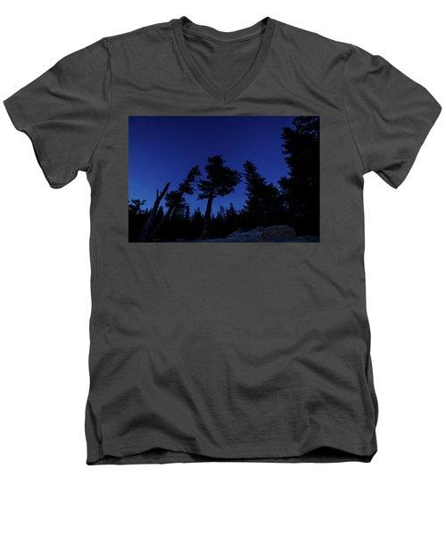Night Giants Men's V-Neck T-Shirt