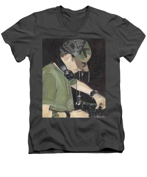 Night Job Men's V-Neck T-Shirt
