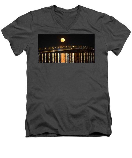 Night Of Lights Men's V-Neck T-Shirt