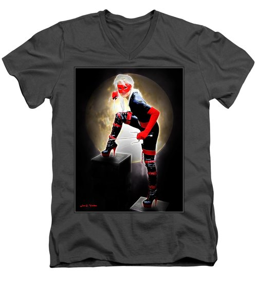 Night Of The Avenger Men's V-Neck T-Shirt