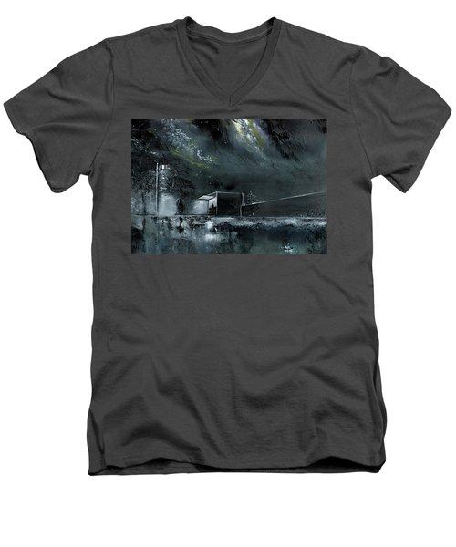 Night Out Men's V-Neck T-Shirt