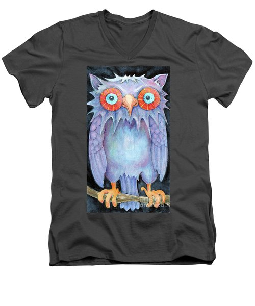 Night Owl Men's V-Neck T-Shirt