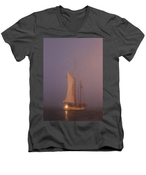 Night Passage Men's V-Neck T-Shirt