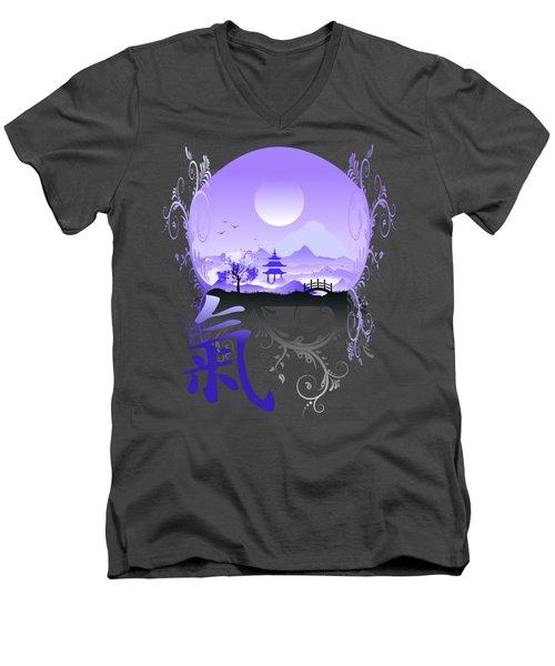 Night Qi Men's V-Neck T-Shirt