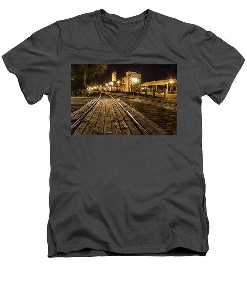 Night Rails Men's V-Neck T-Shirt