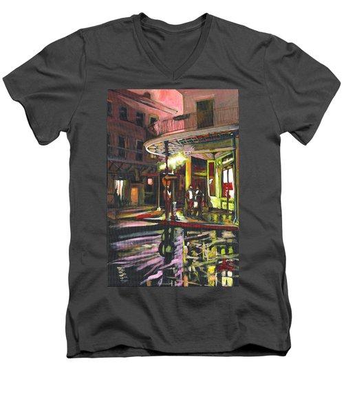 Night Shift Men's V-Neck T-Shirt