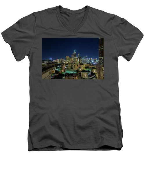 Night View 2 Men's V-Neck T-Shirt