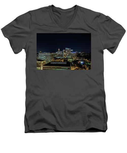 Night View  Men's V-Neck T-Shirt