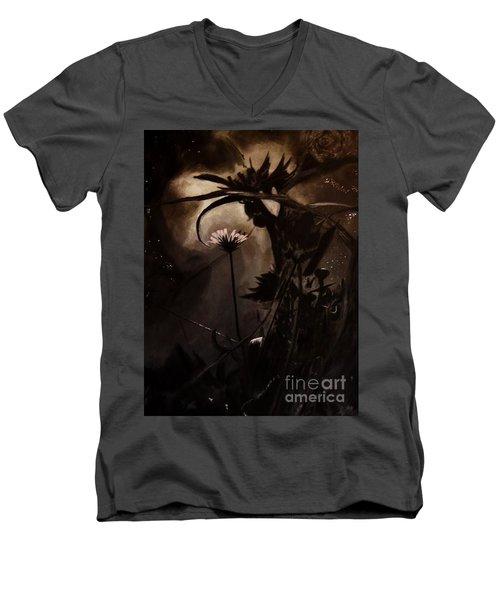 Nightflower Men's V-Neck T-Shirt
