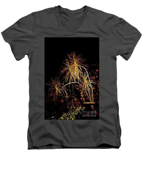 Men's V-Neck T-Shirt featuring the photograph Nightmares Are Made Of This by Al Bourassa