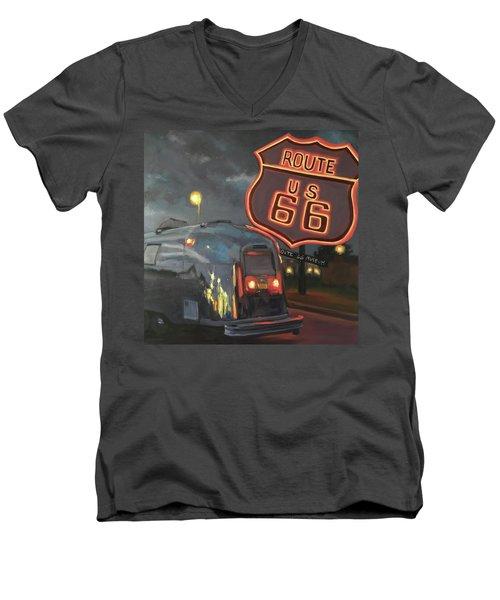 Nighttime Cruise Men's V-Neck T-Shirt