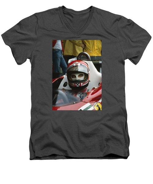 Niki Lauda. 1977 Austrian Grand Prix Men's V-Neck T-Shirt