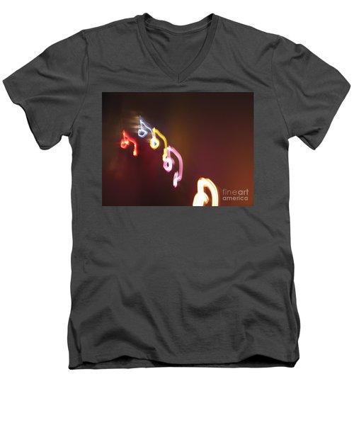 Men's V-Neck T-Shirt featuring the photograph Nine Or Six Six Or Nine by Ausra Huntington nee Paulauskaite