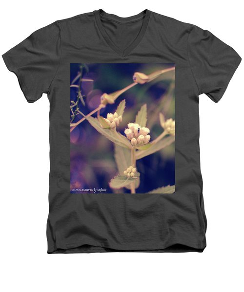 Nip It In The Bud Men's V-Neck T-Shirt by Stefanie Silva