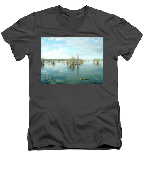 Nisqually High Tide Men's V-Neck T-Shirt