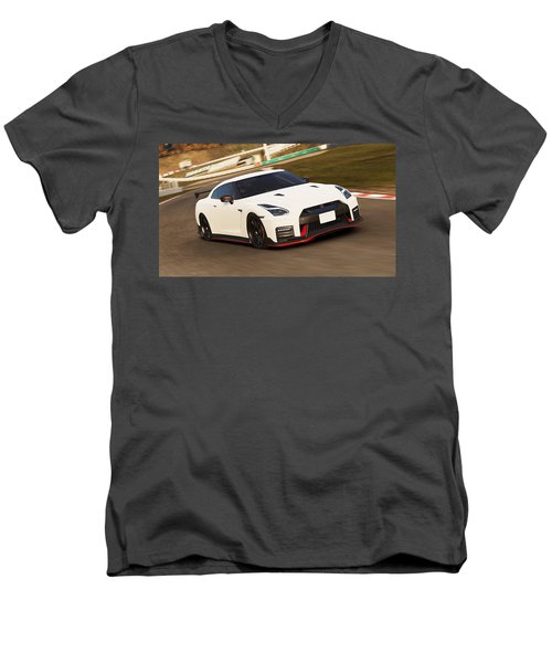 Nissan Gt-r Nismo - 02  Men's V-Neck T-Shirt