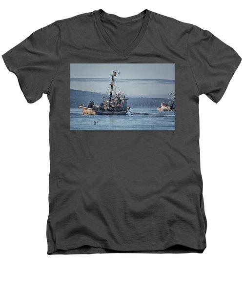 Nita Dawn Closing Men's V-Neck T-Shirt