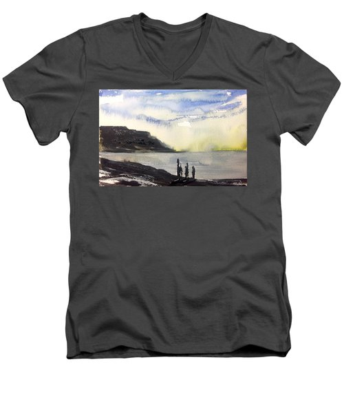 NL  Men's V-Neck T-Shirt