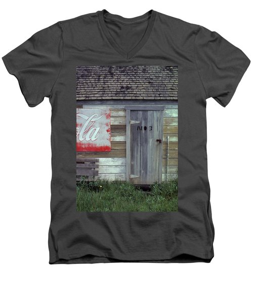 Men's V-Neck T-Shirt featuring the photograph No. 3 by Laurie Stewart