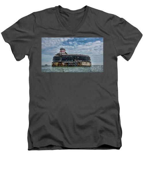 No Mans Fort Men's V-Neck T-Shirt