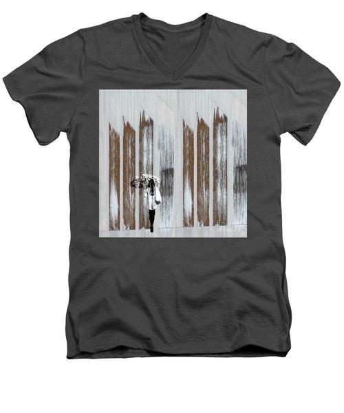 No Rain Forest Men's V-Neck T-Shirt