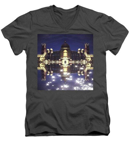 Nao Tenha Pena Men's V-Neck T-Shirt