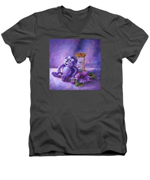 No Time To Monkey Around Men's V-Neck T-Shirt
