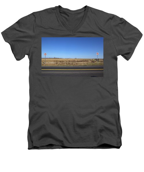 No Way Men's V-Neck T-Shirt