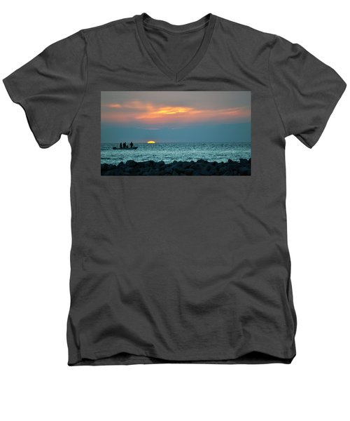 No Worries Men's V-Neck T-Shirt