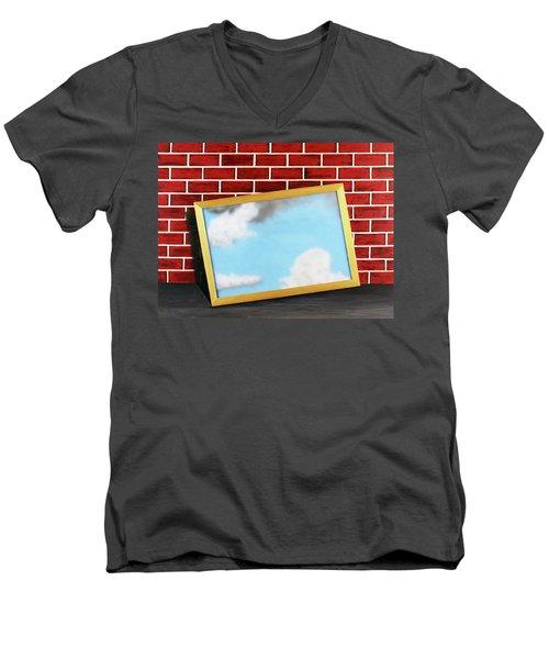 Nobody Noticed Part II Men's V-Neck T-Shirt by Thomas Blood