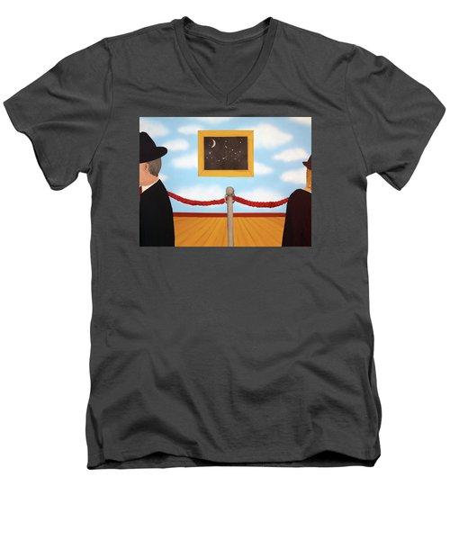 Nobody Noticed Men's V-Neck T-Shirt