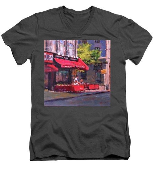 Noon Refreshments Men's V-Neck T-Shirt