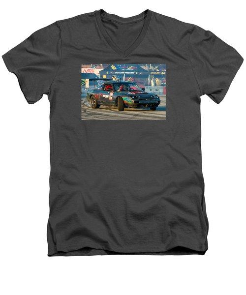 Nopi Drift 2 Men's V-Neck T-Shirt by Michael Sussman