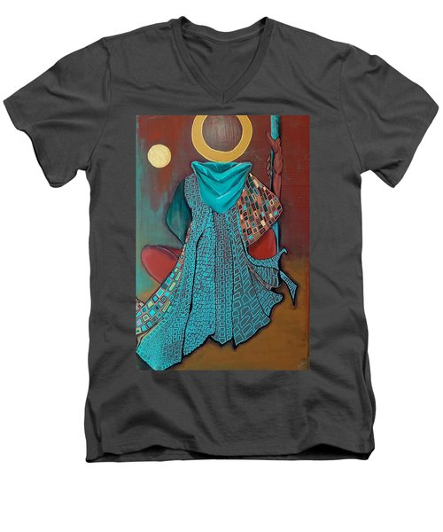 Nor The Moon By Night Men's V-Neck T-Shirt