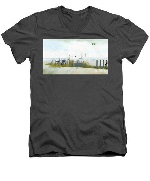 Noredney 1 Men's V-Neck T-Shirt