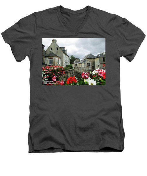 Normandy Arrival Men's V-Neck T-Shirt