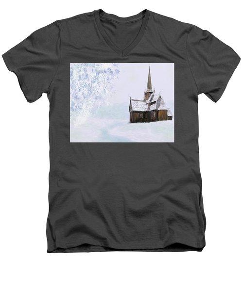 Norsk Kirke Men's V-Neck T-Shirt