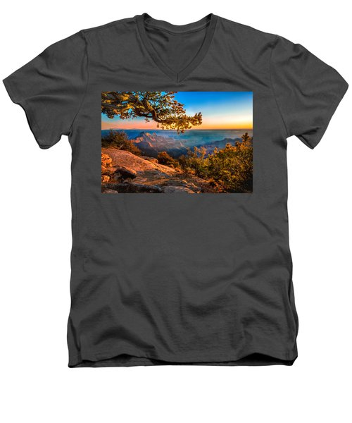 North Branch Men's V-Neck T-Shirt