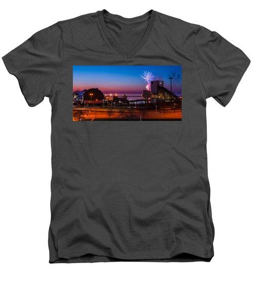 North Coast Harbor Men's V-Neck T-Shirt